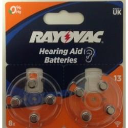 RAYOVAC 13/PR48 HEARING AID...