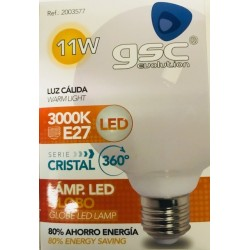 Globe led G95 11w E27 1000 Lum